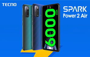 Tecno Spark Power 2 Air Unveiled with a Humongous 7.0 inch Screen and a Massive 6,000 mAh Battery