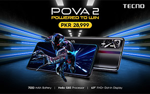 Tecno Pova 2 is Now Available Across Pakistan; The Biggest Battery Phone with 18W Fast Charge