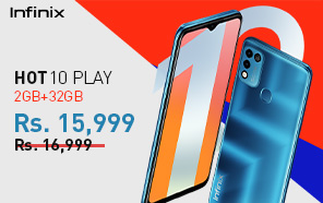 Infinix Hot 10 Play Price in Pakistan Cut by Rs 1,000; The Entry-level Infinix Now Starts at Rs 15,999