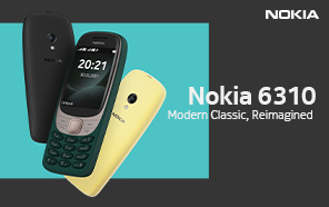 Nokia 6310 20th Anniversary Edition Gives the Original Classic a Makeover, Snake Game Included