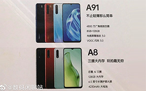 OPPO A8 and OPPO A91 Launching Soon: Leaked Promotional Poster reveals the Design and Spec Details
