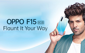 Oppo F15 Launched with 6.4 inches AMOLED Display and Quad Rear Cameras, India gets it first