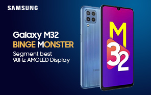 Samsung Galaxy M32 featured in an unboxing video ahead of the official release; Launching on June 21