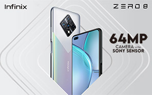 Infinix Zero 8 is Coming to Pakistan Soon; Features 64MP Quad Camera Setup with Sony Sensor