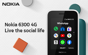 Nokia 6300 4G Launches in Pakistan; A Modern Makeover for the Classic Nokia Model