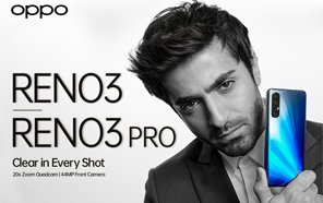 Oppo Reno 3 4G Variant Announced with Helio P90 and 48MP Camera; Launching In Pakistan Tomorrow Along with Reno 3 Pro
