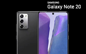 Samsung Galaxy Note 20 Leaked in a 360° Video Preview, Shows a Triple-Camera and a Hole-punch Screen