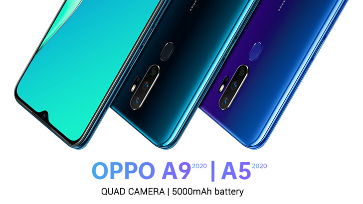 Oppo A9 2020 and A5 2020 All set to Launch Tomorrow in ...