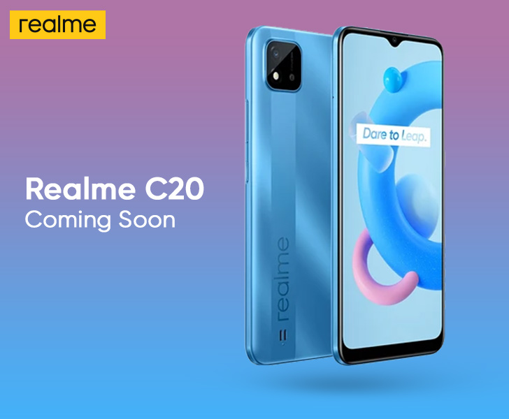 Realme C20 is Coming Soon; Here are the Leaked Product ...