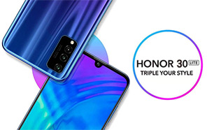 Honor 30 Lite Appears in Early Renders Published in an Updated TENNA Listing as Honor AQM-AL10