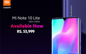 Xiaomi Mi Note 10 Lite Now Available in Pakistan, Features a Curved Display, 64-megapixel Camera, and More