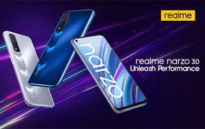 Realme Narzo 30 Goes Official with Helio G95 Gaming Chipset, 5,000mAh Battery, and 30W Dart Charge