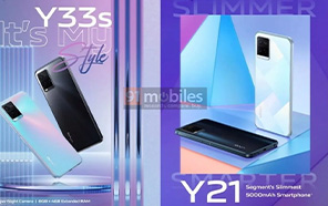 Vivo Y33s and Vivo Y21 to Launch Soon with 5000 mAh Batteries and Sleek Designs