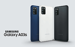 Samsung Galaxy A03s Unveiled with a 5000 mAh Battery and Fingerprint Support