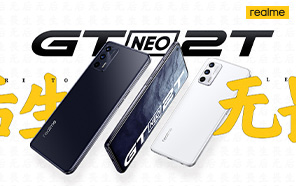 Realme GT Neo 2T Goes Official Featuring Flagship Chip, 65W Charging, and Stunning Display