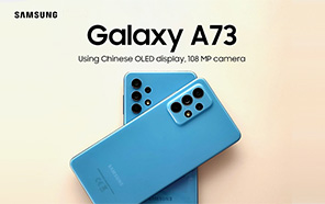 Samsung Galaxy A73 to Ship with a Chinese OLED display and OIS-assisted 108MP Camera, Rumor says