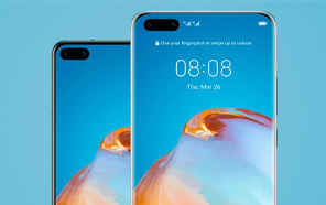 Huawei P40 and P40 Pro Appear In Leaked Renders Revealing Their Front Design