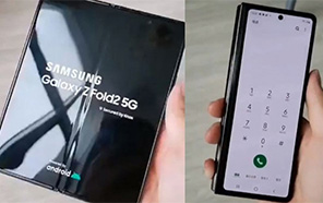 Samsung Galaxy Z Fold 2 Featured in a Hands-on Video, Reveals a Massive Crease in the Middle