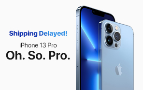 Apple iPhone 13 Pro Max, 13 Pro, and 13 Mini Shipments Delayed Until October