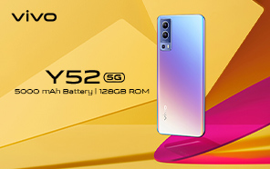 Vivo Y52 5G Goes Global with Dimensity Silicon, Fast Charging Support, and Triple Camera