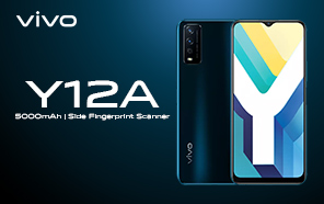 Vivo Y12A Launches Globally with Qualcomm Silicon, 5000 mAh Battery, and Fingerprint Security