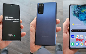 Samsung Galaxy S20 FE Featured in Hands-on Photos Ahead of the September 23 Launch