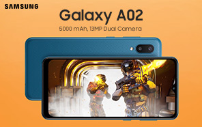 Samsung Galaxy A02 Launches in Pakistan; Comes in Two Variants: 3GB/32GB and 3GB/64GB