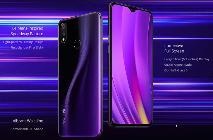 eaf5b27c3 Realme 3 Pro got official with with a whopping 4000mAh battery and ...