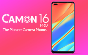 Tecno Camon 16 Pro Featured on Google Play Console, Has A Similar Design to the Tecno 16 Premier