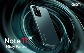 Redmi Note 11 Officially Teased; Images Showcase the Phone in a Gorgeous Misty Forest Edition