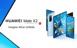 Huawei Mate X2 Goes Official with a New Design, 10X Periscope Camera, and Kirin 9000