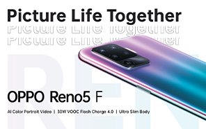 Oppo Reno5 F Unveiled With a Mid-range Price, Mild Redesign, and Trimmed Features