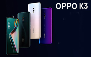 OPPO K3 Launched with 16MP pop-up selfie camera, in-display fingerprint reader and Snapdragon 710