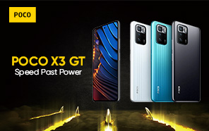 POCO X3 GT Design and Key Specs Confirmed Ahead of Launch; Dimensity 1100 5G SoC and 67W Turbo charging