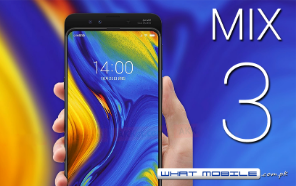 Xiaomi Mi MIX 3, First smartphone to feature the latest Qualcomm Snapdragon 855