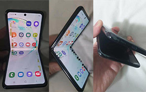 Samsung Galaxy Fold 2 Appears in Leaked Live Images; Will Feature a Completely Reimagined Design