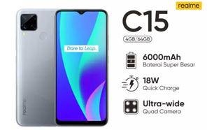 Realme C15 is Coming to Pakistan Next Month, New Leak Reveals Helio G35 and 13MP Quad Cameras