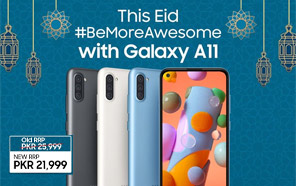 Samsung Galaxy A11 Gets a Big Price Drop in Pakistan Just Before Eid; an Exciting Rs. 4,000 Discount