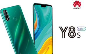 Huawei Y8s Leaked in Renders, Has a Wide Notch on the Front and a Twin Rear Camera