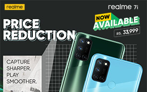 Realme 7i Price in Pakistan Slashed by Rs. 3,000 Once Again; Now Starts From Rs. 33,999