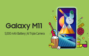 Samsung Galaxy M11 Launched in Pakistan along with Galaxy A01 Core; The M-Series is Finally here
