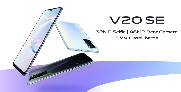 Vivo V20 SE Goes Official With an AMOLED Display, a 32MP Selfie Camera, and  33W Fast Charging - WhatMobile news