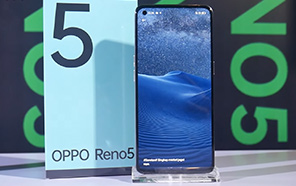 Oppo Reno 5 4G Global Variant Featured in a Hands-on Video Ahead of Its Launch