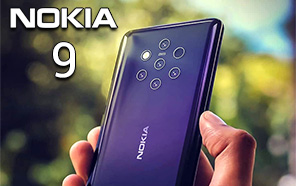 Nokia 9 with 5 Rear Cameras is Launching on February 24th
