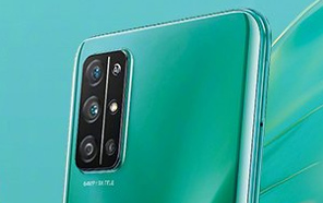 Honor 30S Will Also Debut in Green; A Live Image Showcases the Camera Layout