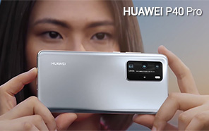 Huawei P40 Pro Appears in a Last-Minute Video Leak; The Promo Showcases P40 Pro's 50x Zooming