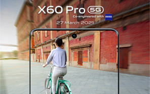 Vivo X60 Pro Price in Pakistan (Launching Tomorrow); Flagship Performance, Gimbal Camera