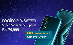 Realme X3 SuperZoom Launched in Pakistan, Goes Up for Pre-order; Available from 2nd July
