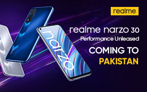 Realme Narzo 30 is Launching in Pakistan Next Week; Gaming Chip and Responsive 90Hz Display on a Budget