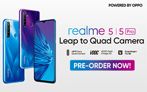 Realme 5 and 5 Pro Pre-Orders are On! Officially arriving in Pakistan on 2nd of October 2019
